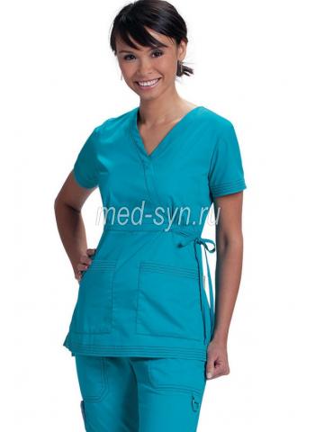 медицинский костюм бирюзовый