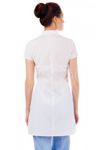 медицинский халат Цветоформа М19 белый