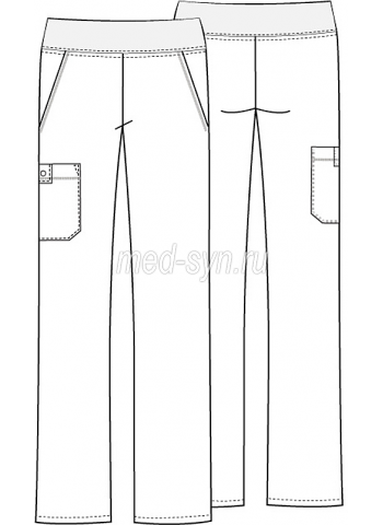 cherokee  pants 2085T BLKB