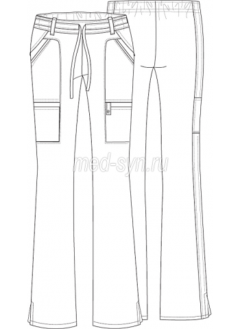 cherokee  pants 21100 bluv