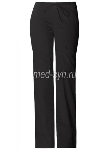 Медицинские брюки женские черные