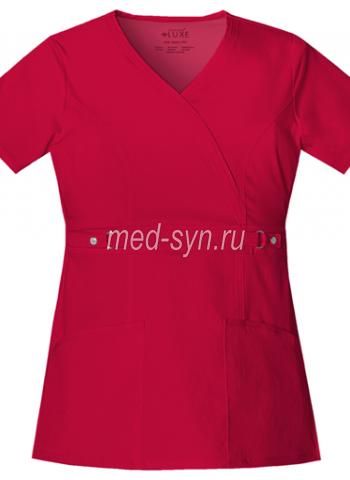 красные медицинские костюмы