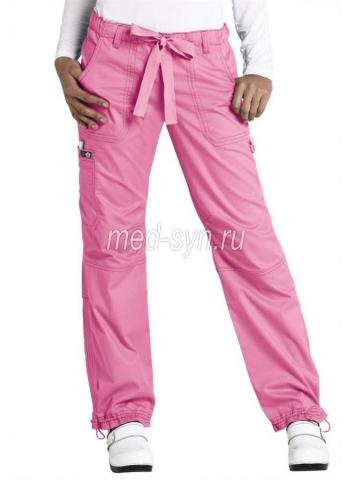 медицинский костюм розовый