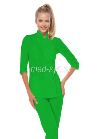 Медицинский костюм зеленый