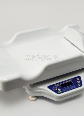 Медицинские весы МАЛЫШ с ростомером