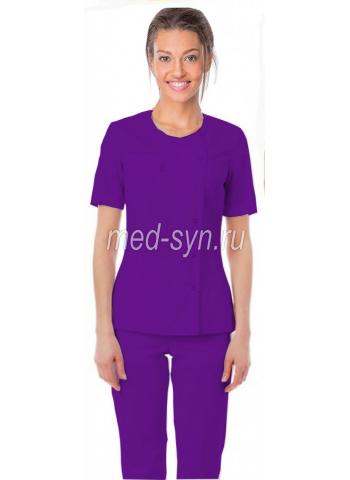 медицинский костюм фиолетовый 2990 р