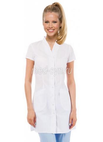 Медицинский халат в интернет магазине белый