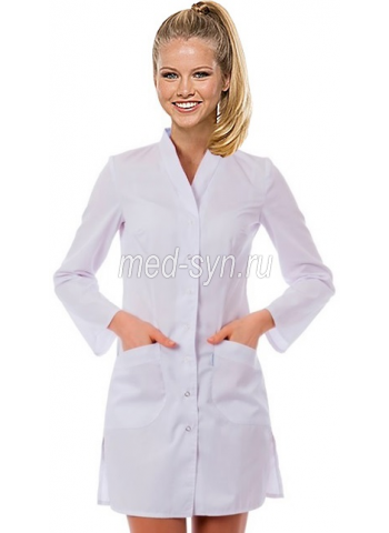 медицинский халат белый 900 рублей