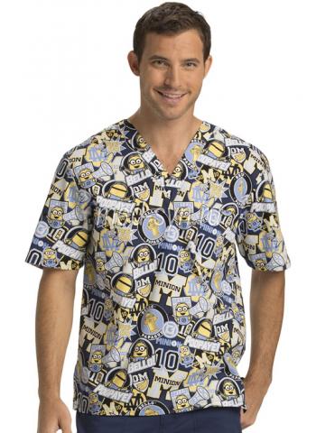 Хирургическая блуза с рисунком