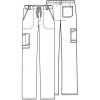 cherokee pants 1022 NAVV
