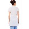 медицинский халат №4  белый