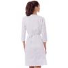 медицинский халат №2 белый 3500 р