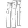 cherokee pants 4043 royw