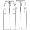 cherokee pants 4243 whtw