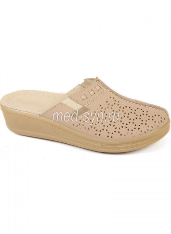 Медицинская обувь бежевая