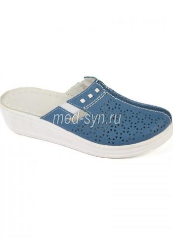 Медицинская обувь синяя