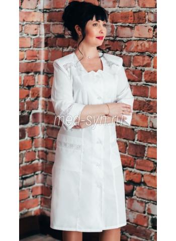 Медицинские халаты для медсестер, медицинский халат до 62 размера