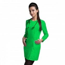Медицинские халаты в цвете зеленое яблоко