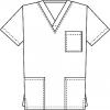 медицинская блуза  elit doc 14-1454